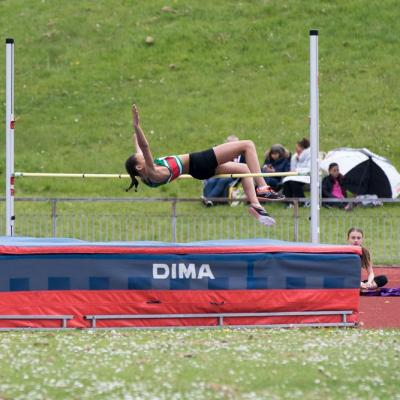Tia Grover U13g High Jump1