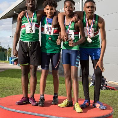 U13 Boys Relay Squad